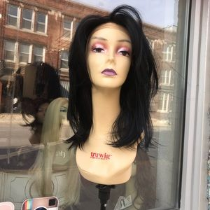 Black wig 13X6 Freepart Swisslace Fullcap 2019